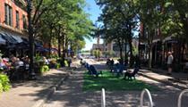 Ohio City's Market Avenue Pop-Up Pedestrian Park Closing After Three Months