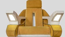 You Can Now Bid On Captain Picard's Star Trek Chair from Cedar Point