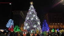 Downtown Cleveland's Bigass Christmas Tree Gets Lit Nov. 30 for Winterfest