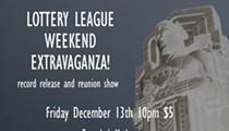 Lottery League Record Release and Reunion Events to Take Place on Dec. 13 and 14 at the Happy Dog