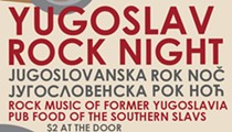 Slovenian National Home to Host a Special Yugoslav Rock Night on Jan. 10