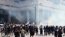 Massive Cleveland George Floyd Protest Turned Chaotic as Police Fired Tear Gas, Flash Grenades into Crowds