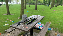 Stop Littering in the Metroparks, You Doofuses