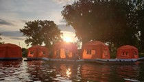 Rent a Floating Tent at This One-of-a-Kind Campsite in Ohio