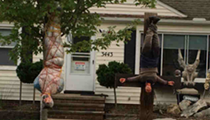 Update: Parma Homeowners Decide to Re-install Dead Body Display After Weeks of Attention