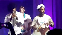 ICYMI: LeBron Dressed Up As Prince for Halloween and Put On a Show with Backup Dancers Kevin Love and JR Smith