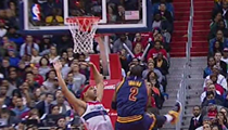Kyrie and LeBron Lead Cavaliers Past Wizards in Offensive Slugfest