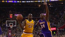 Cavaliers' Best Defense A Good Offense Against Leaky Lakers