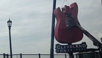 Hard Rock Cafe Cleveland Closes; Crews Remove Giant Guitar from Outer Facade