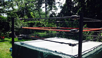 No, Scene Does Not Have a Wrestling Ring for Sale