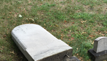 A Short Note to the Assholes Who Knocked Over Headstones at the Erie Street Cemetery