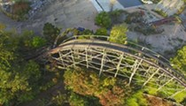 Video: Drone Footage of the Big Dipper Demolition at Geauga Lake