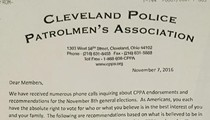 Here's the Cleveland Police Union's Endorsements and Recommendations