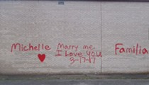 This Ohio Love Bird Didn't Quite Think Through His Spray-Painted Marriage Proposal