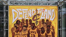 The Q Unleashes New Cavs Mural for NBA Finals Games