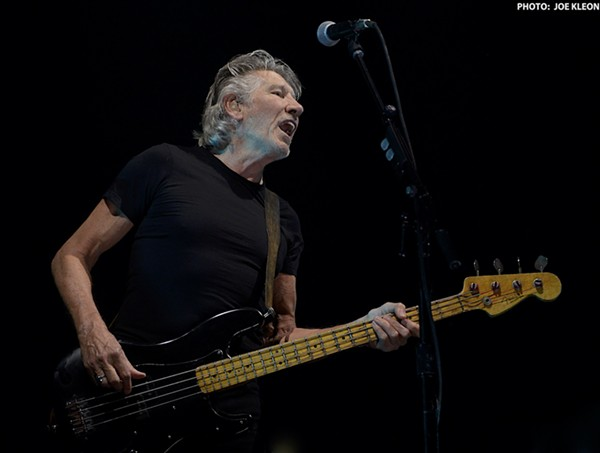 roger waters delivers anti trump message during epic concert at the q scene and heard scene 39 s. Black Bedroom Furniture Sets. Home Design Ideas