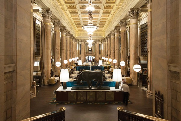 Marble Room S Service Has A Long Way To Go To Catch Up To