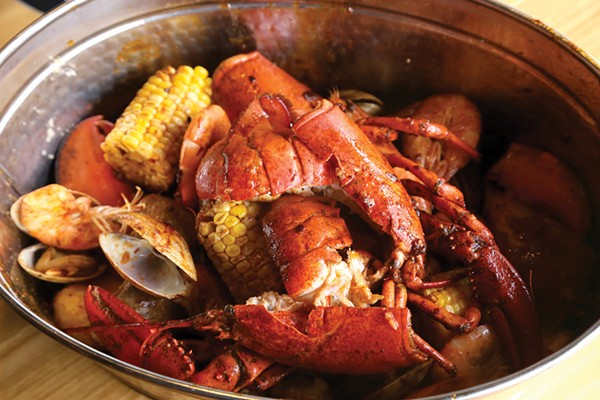 Sit Back and Make a Delicious Mess at Seafood Shake in Cleveland Heights | Dining Lead ...