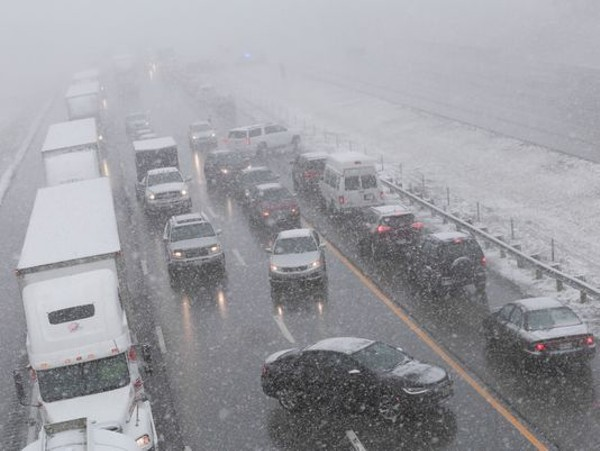 Video from Massive 50-Car Pile-up on I-71 Yesterday | Scene