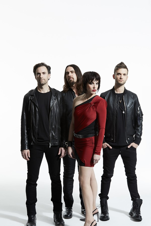 halestorm singer says she 39 s thrilled to tour with female fronted bands in this moment and new. Black Bedroom Furniture Sets. Home Design Ideas