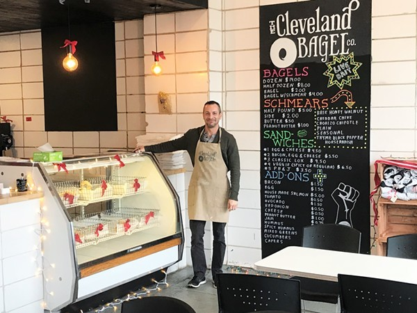 Cleveland Bagel Company's New East Side Shop Will Open Next Week