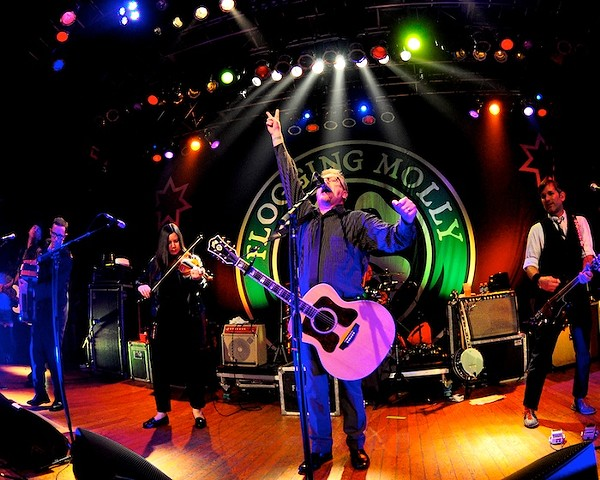 Concert Slideshow: Flogging Molly at House of Blues