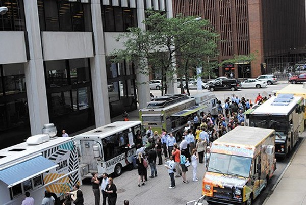 Cleveland Food Truck Tuesday