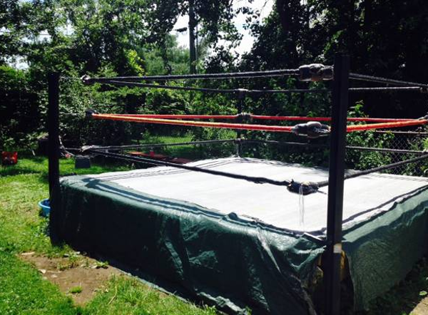 No Scene Does Not Have A Wrestling Ring For Sale Scene