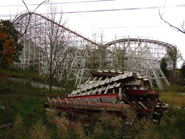 Geauga Lake S Big Dipper Will Be Torn Down In Coming Weeks