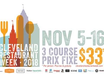 Cleveland Independents Restaurant Week is Happening Now through Nov. 16