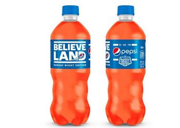 Orange 'Believeland' Pepsi Debuts in Cleveland For Browns Sunday Night Football Return