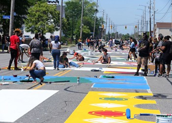 Check Out this Short Documentary on the Creation of Cleveland's Black Lives Matter Mural