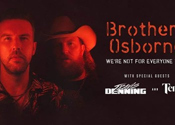Brothers Osborne To Perform at Jacobs Pavilion at Nautica in September
