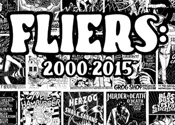 15 Years of Jake Kelly's Illustrated Fliers Collected in One Massive Book