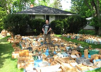Dana Depew is Building and Installing Hundreds of Handmade Birdhouses Around Northeast Ohio, for Free