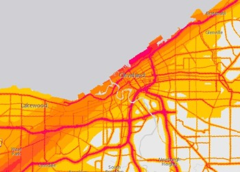 How Noisy Is It Around Cleveland? A New Interactive Map Has the Answers