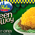 Skyline Chili's Green Noodles Are a Thing on St. Patrick's Day, For Some Reason