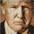 Saltine Cracker Portrait of President Trump to Go On Display at 78th Street Studios