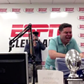 Here's ESPN Cleveland's Aaron Goldhammer Fulfilling His Promise and Actually Eating Literal Horse Shit