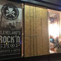 Someone Threw a Rock Through CLE Clothing Co.'s Window Last Night, Made Off With a Few Shirts