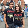 Fan Cam: Here's Who We Spotted at the Killers Concert at Jacobs Pavilion