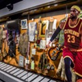"Rock Hall Goes ""All In,"" Blocks San Francisco Exhibit With Giant LeBron James Cutout"