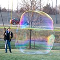 Mayfield Heights Resident Seeks to Pop Guinness World Record for Largest Soap Bubble