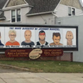 Here's Johnny Manziel as a Dick on a Cleveland Billboard