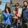 "Video: Clip From ""My Blind Brother"" Has Tremont, Jenny Slate, Adam Scott, Nick Kroll and a Punch"