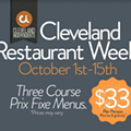 New Dates for Annual Cleveland Restaurant Week, Now Happening in October