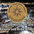 "Cleveland Metroparks Receives Prestigious ""Best in Nation"" Gold Medal Award"