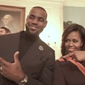 Video: Cavs take on the Mannequin Challenge at the White House