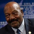 Jim Brown Says Donald Trump is 'Not a Phony'