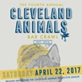 Fourth Annual Cleveland Animals Bar Crawl to Take Place on April 22